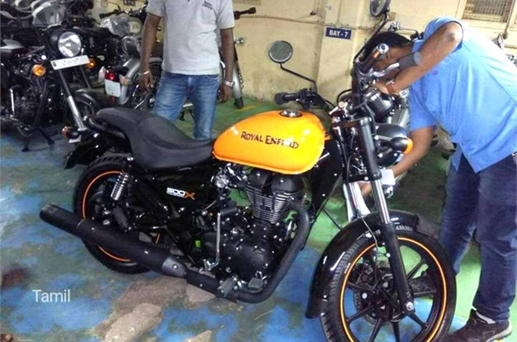 Royal Enfield Thunderbird 500X Spied In India