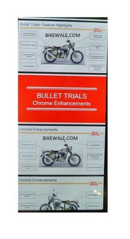 Royal Enfield Trials Details