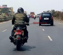 Royal Enfield Twin-Cylinder Bike Spied
