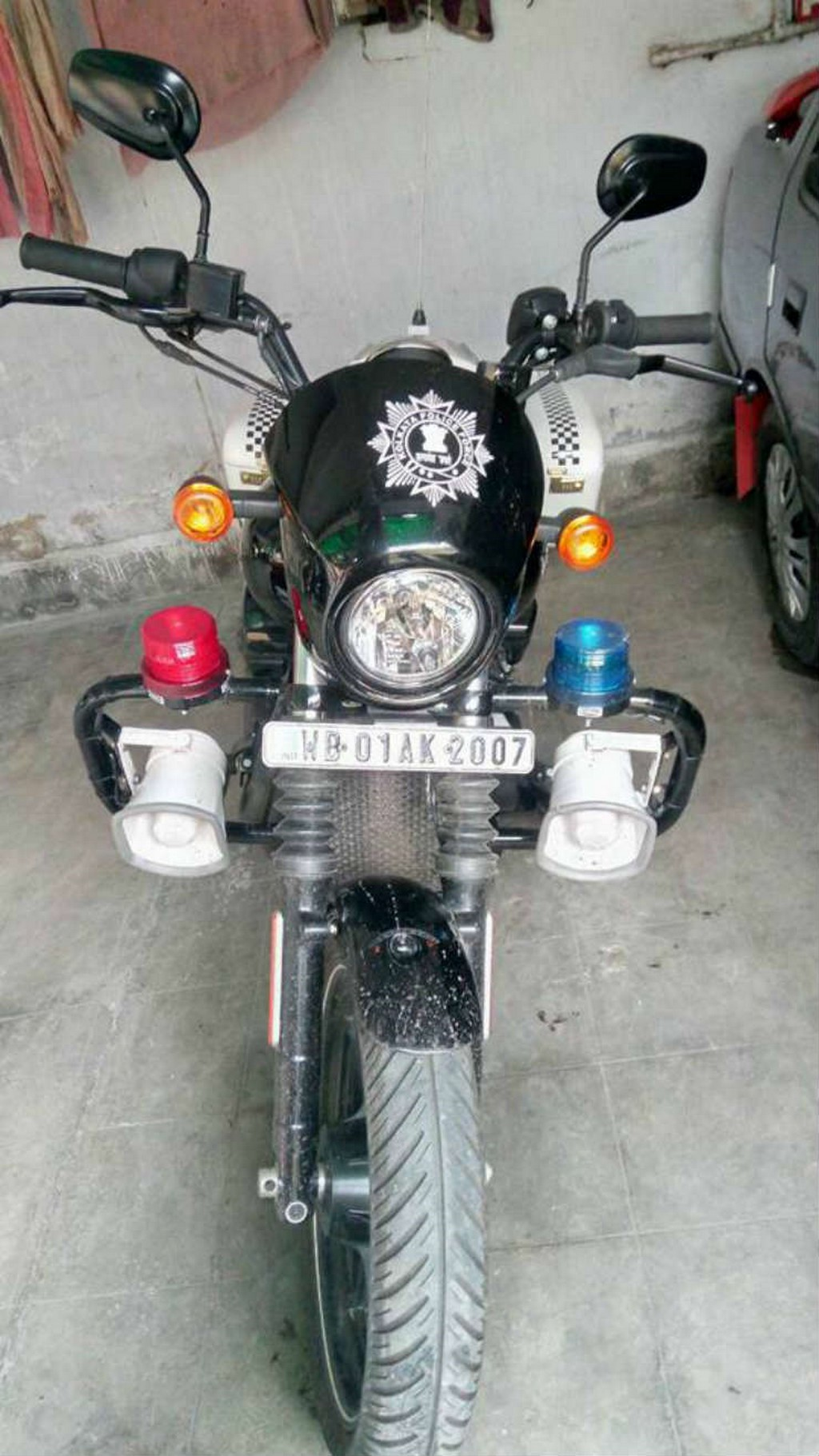 Royal Enfields Replaced With Harley-Davidsons By Kolkata Police