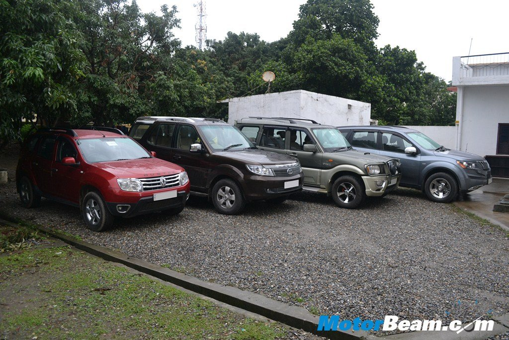 SUV Shootout Duster Safari Scorpio XUV500