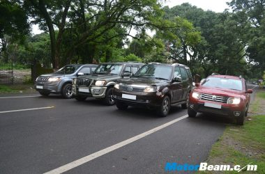 SUV Shootout Front Lineup