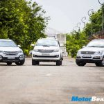 Santa Fe vs Fortuner vs Rexton Shootout