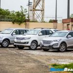 Santa Fe vs Fortuner vs Rexton Shootout Comparo