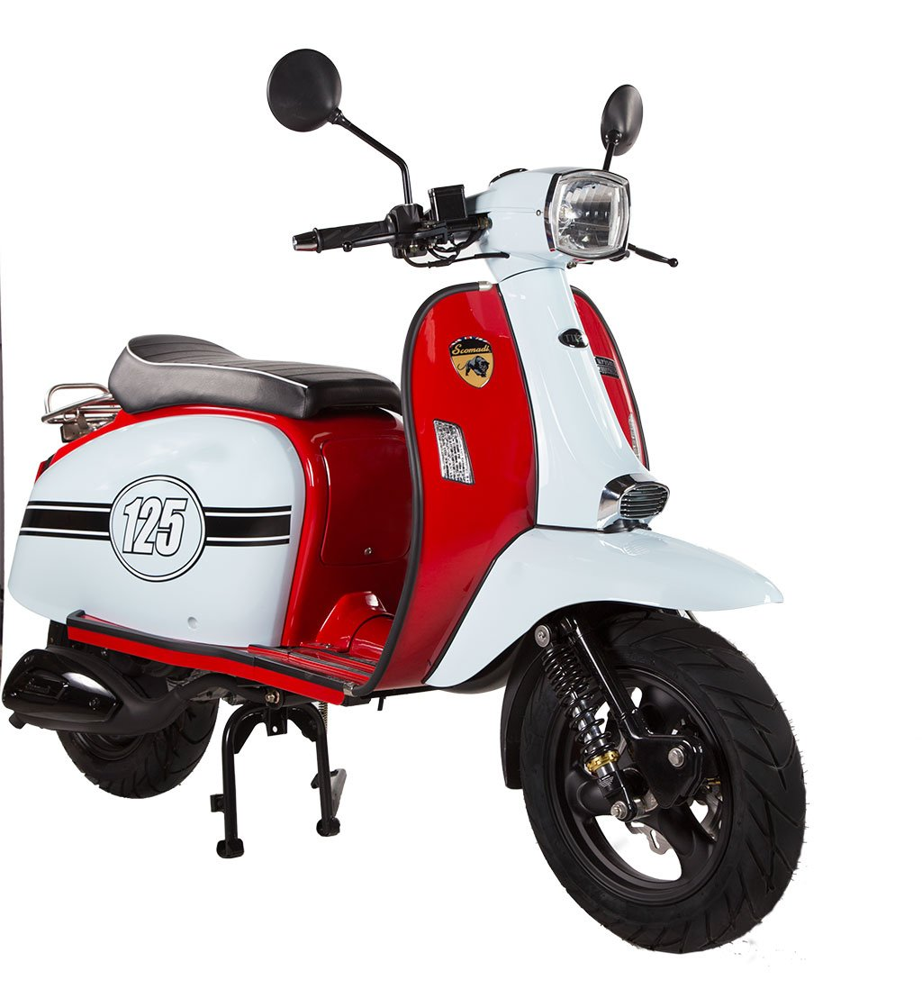Scomadi TL125 Scooter Thailand