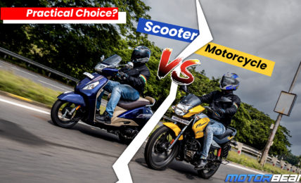 Scooter vs Motorcycle - What Is More Practical