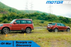 Scorpio vs Discovery Tug Of War