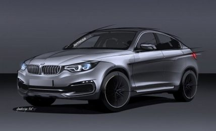 Second Gen BMW X6 Rendering
