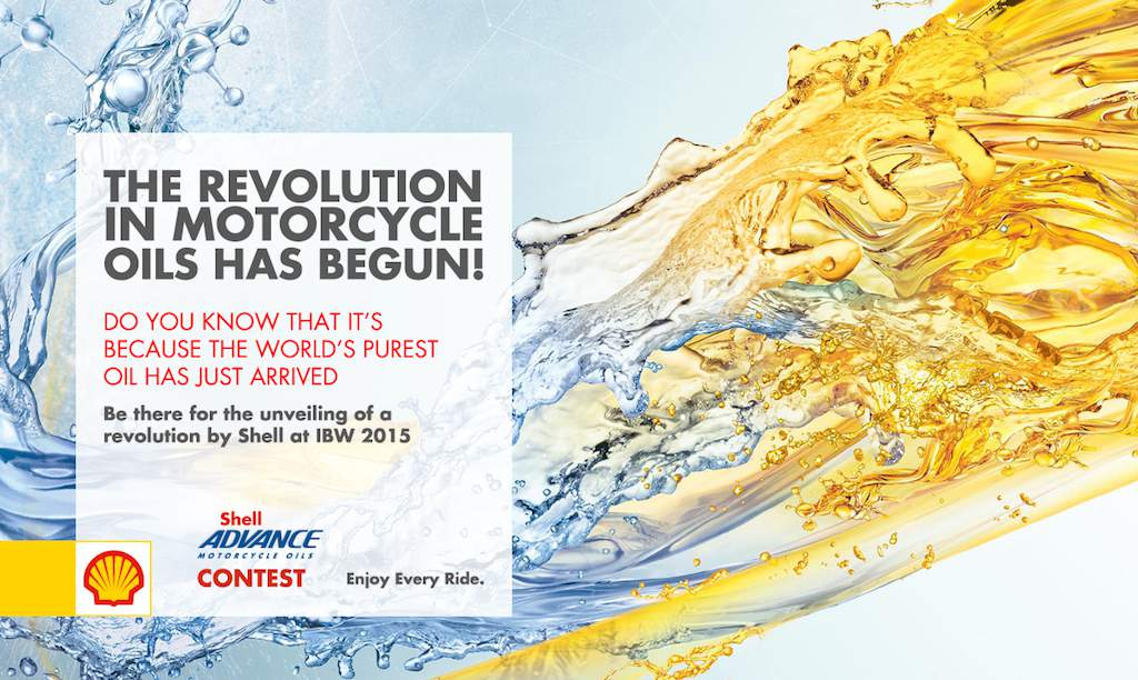 Shell Motorcycle Oil Revolution IBW 2015