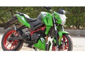 Modified KTM Duke 200 Gets Yamaha RD350 Engine | MotorBeam