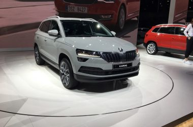 Skoda Karoq Front And Side