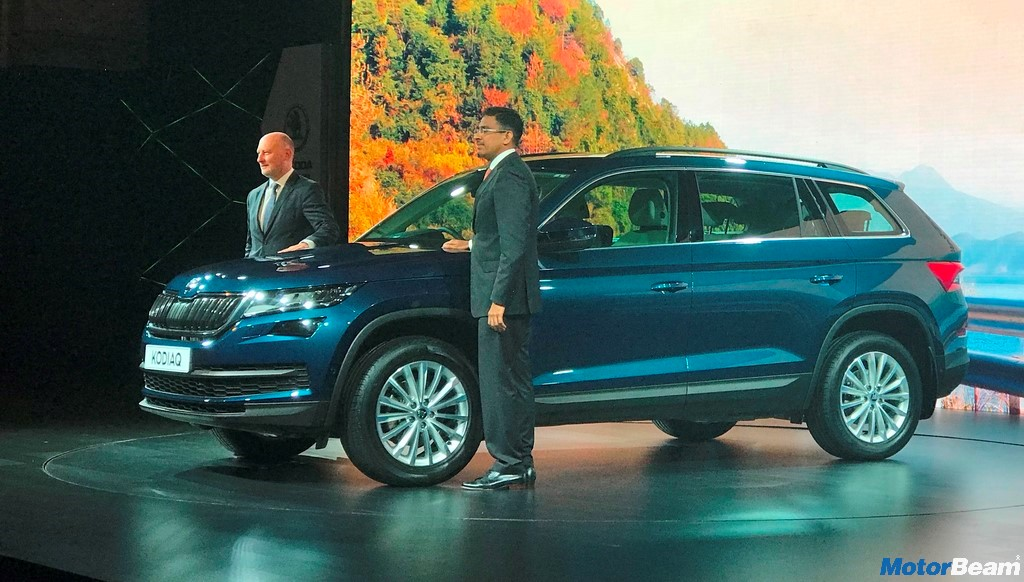 Skoda Kodiaq Front And Side
