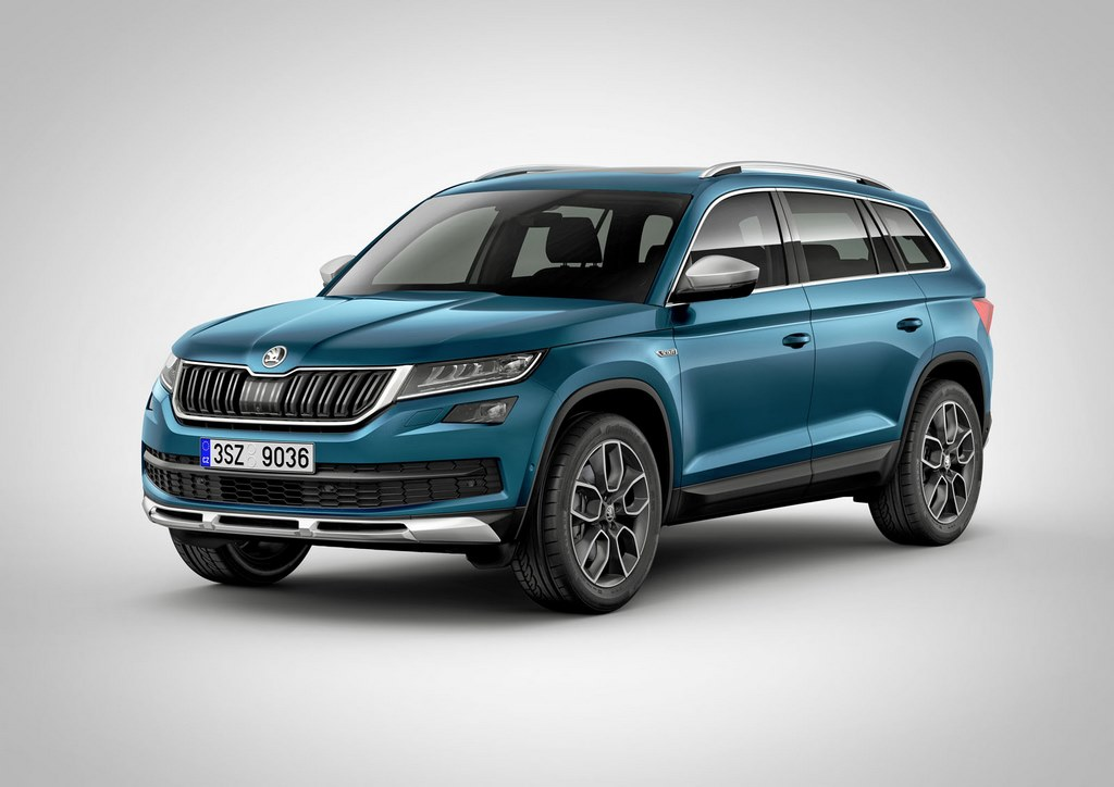 Skoda Kodiaq Scout Launch