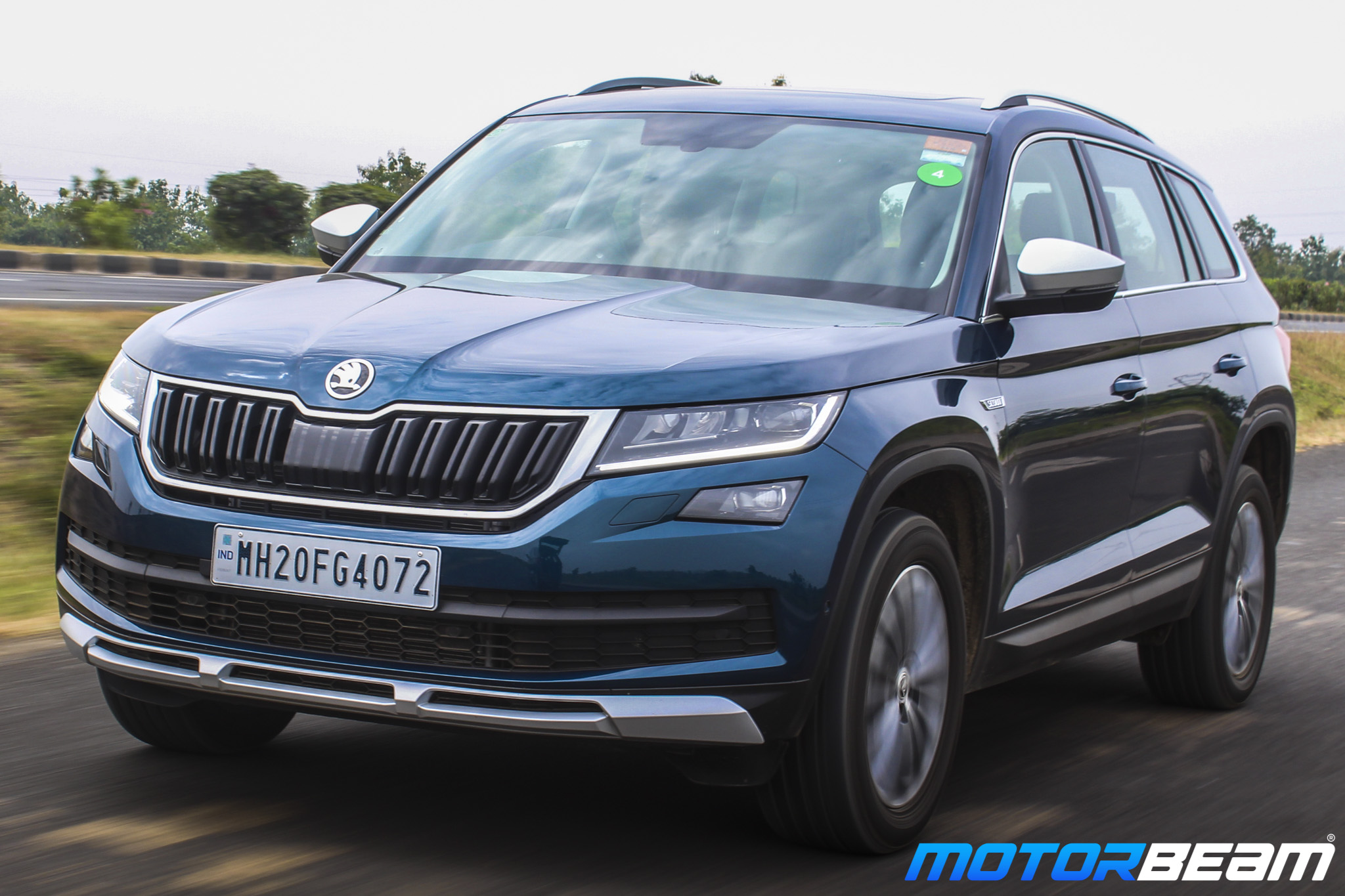 Skoda Kodiaq Scout Review Test Drive