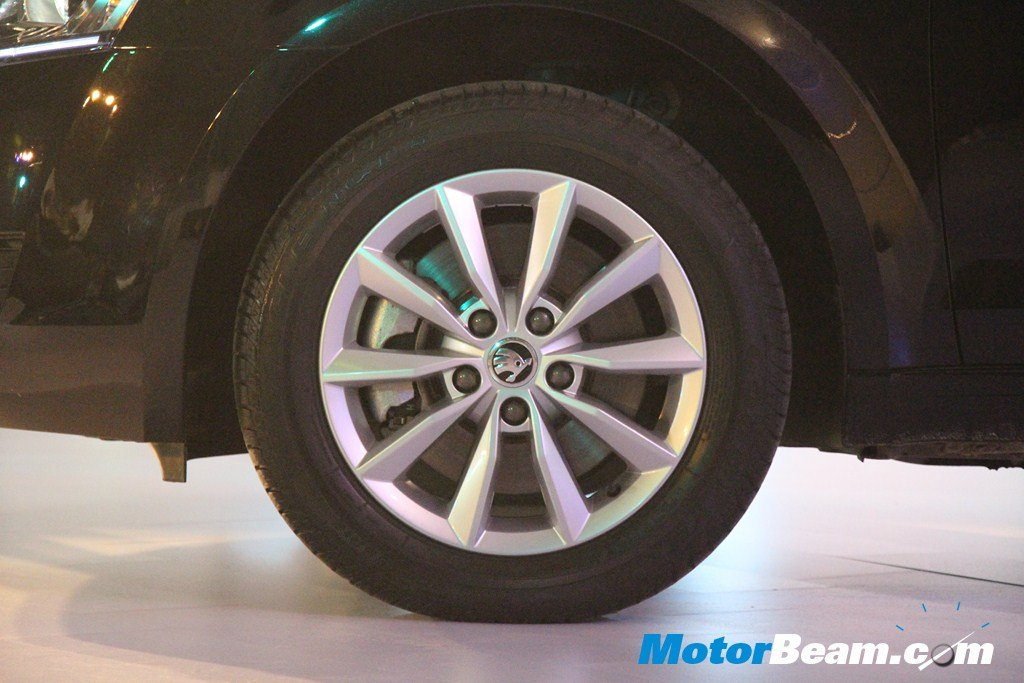 Skoda Octavia Launch Wheel