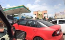 Skoda Rapid CNG Spotted