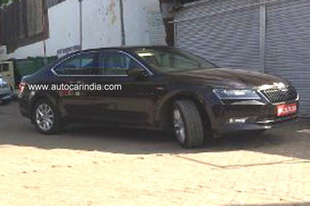Skoda Superb Laurin & Klement India