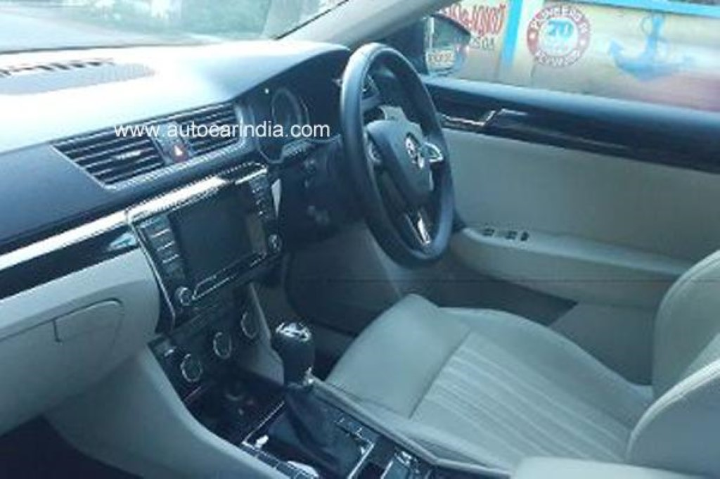 Skoda Superb Laurin & Klement Interiors