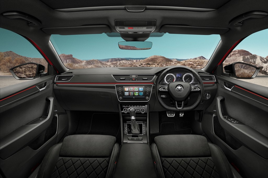 Skoda Superb Sportline Interior