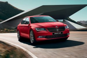 Skoda Superb Sportline Launch