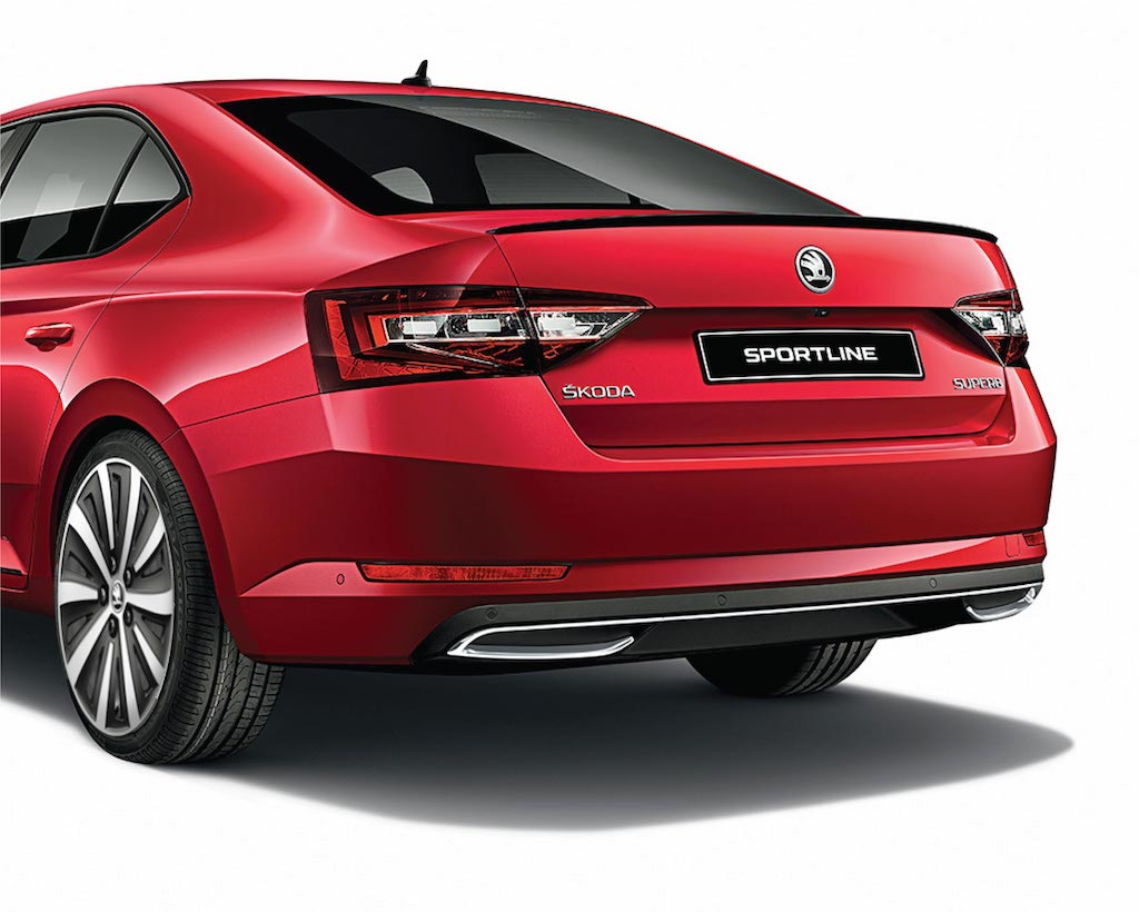 Skoda Superb Sportline Rear