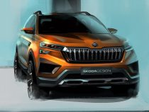 Skoda Vision IN Concept SUV Sketches Revealed