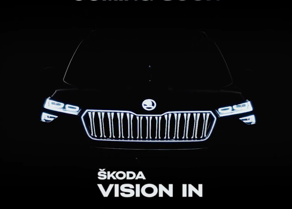 Skoda Vision IN Teaser Video