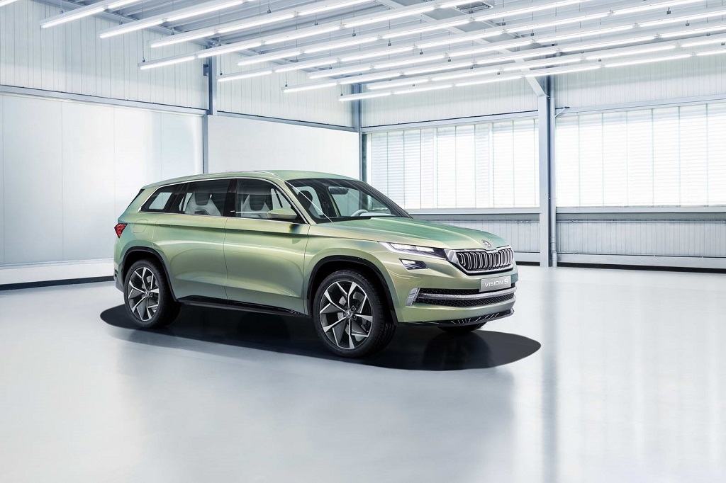 Skoda VisionS Front