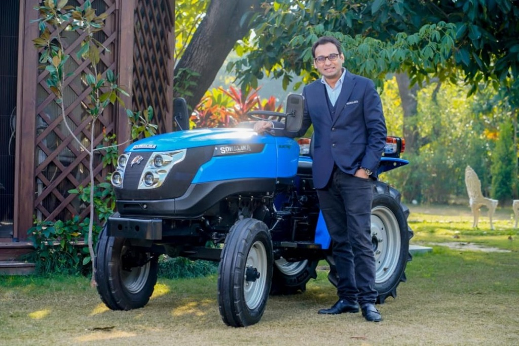 Sonalika Tiger Electric Tractor Price