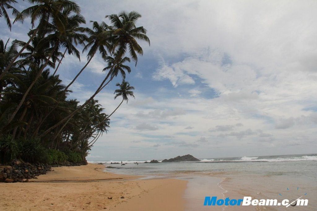 Scenic View Along The Beach