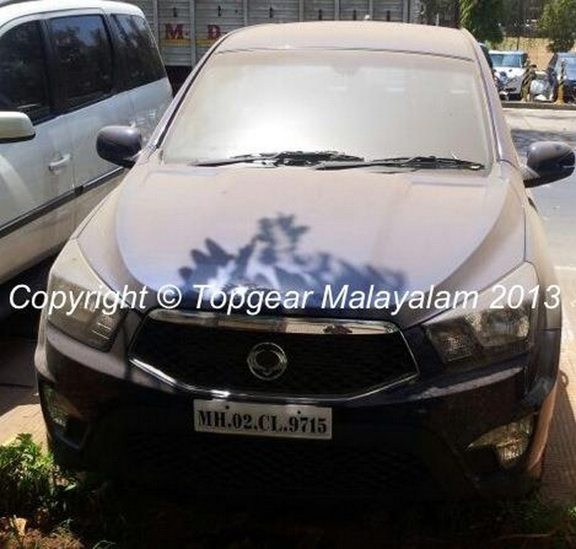 SsangYong Actyon Sports Spyshot Front