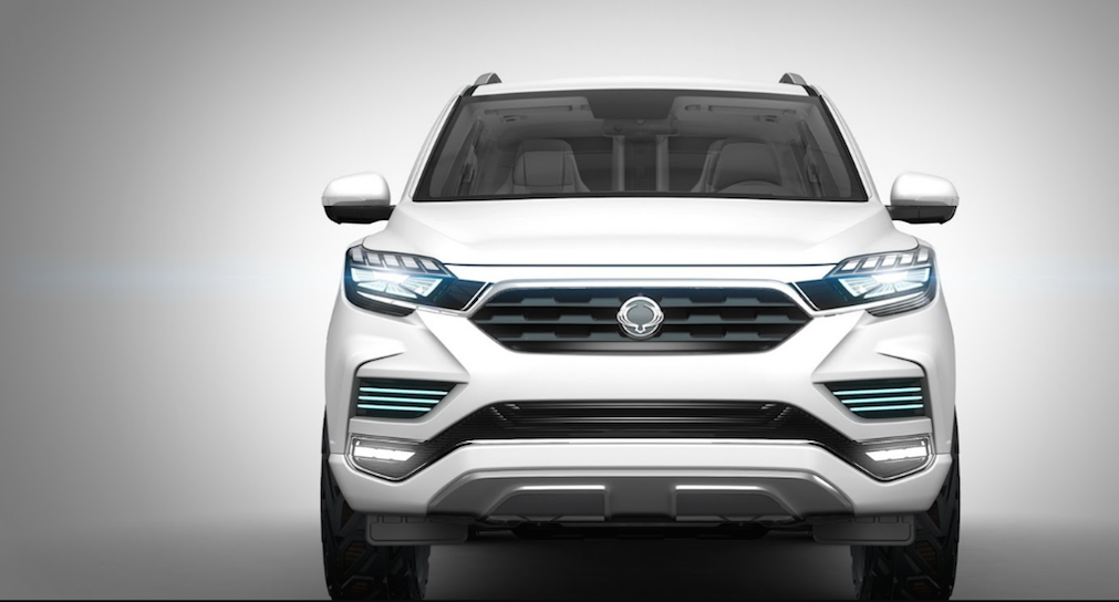 SsangYong LIV-2 SUV Concept Front