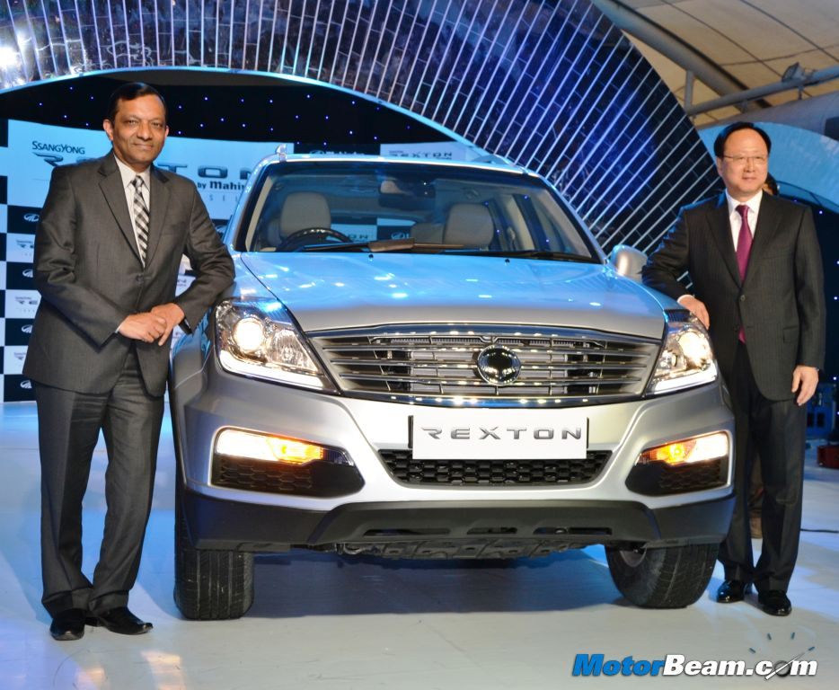 SsangYong Rexton W Launch India