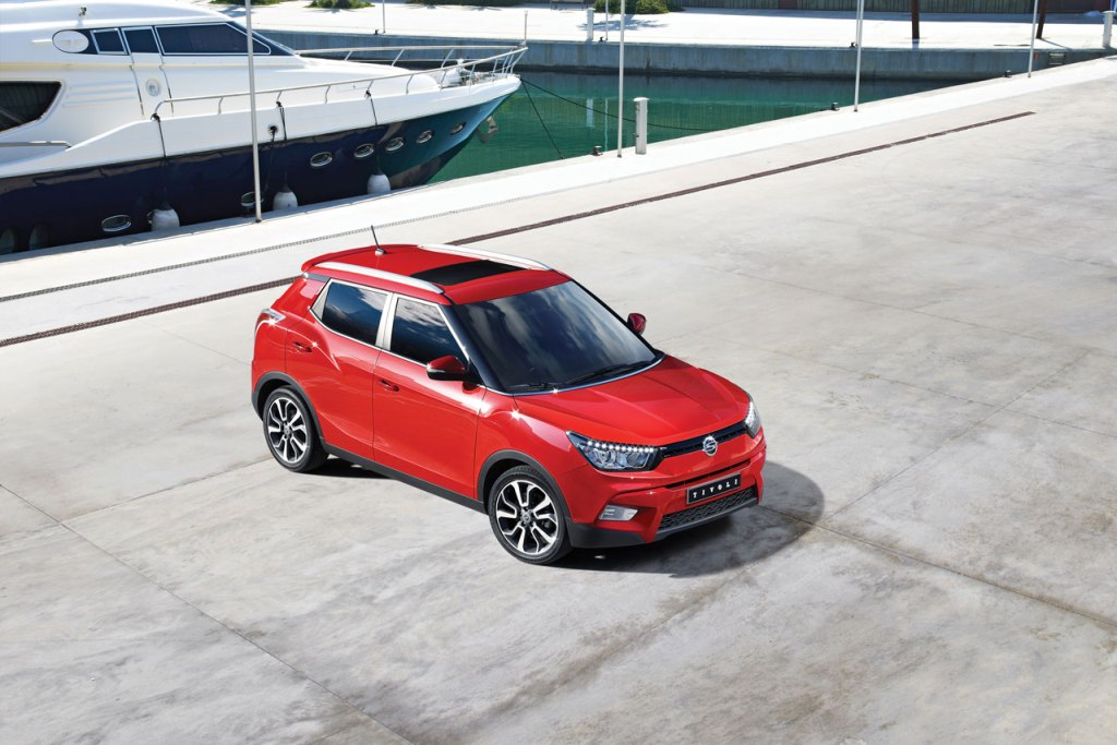 SsangYong Tivoli Launch South Korea