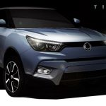 SsangYong Tivoli Official Sketch