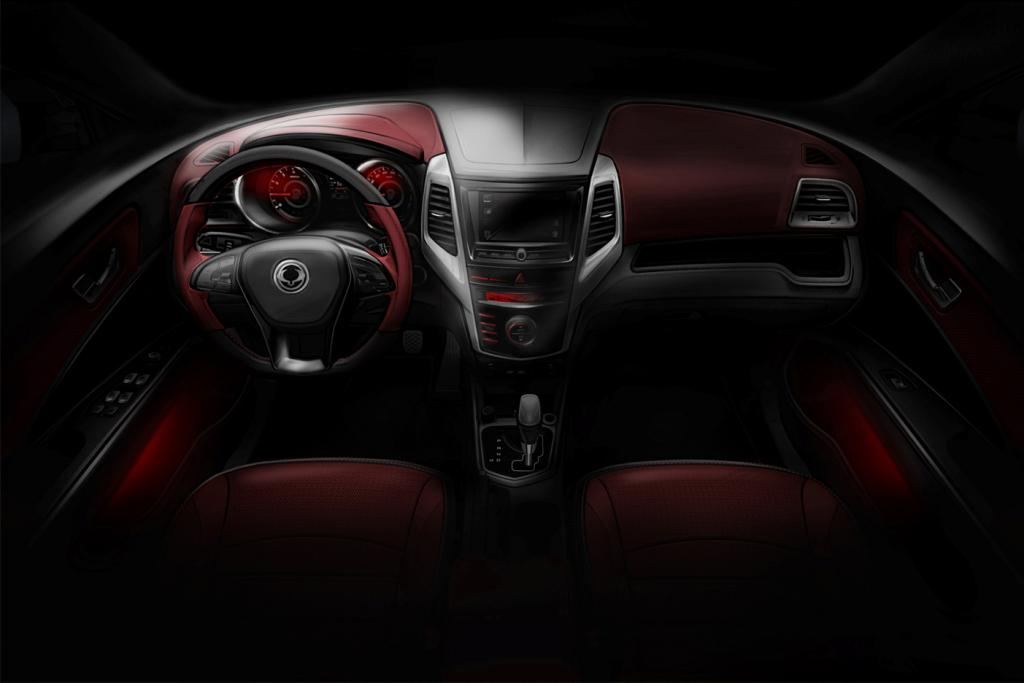 new car launches january 2015SsangYong X100 Compact SUV Called Tivoli Launch In January 2015