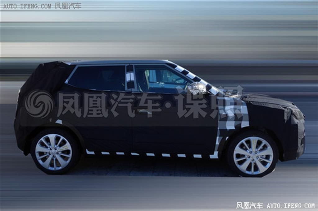 SsangYong XIV-2 SUV Side