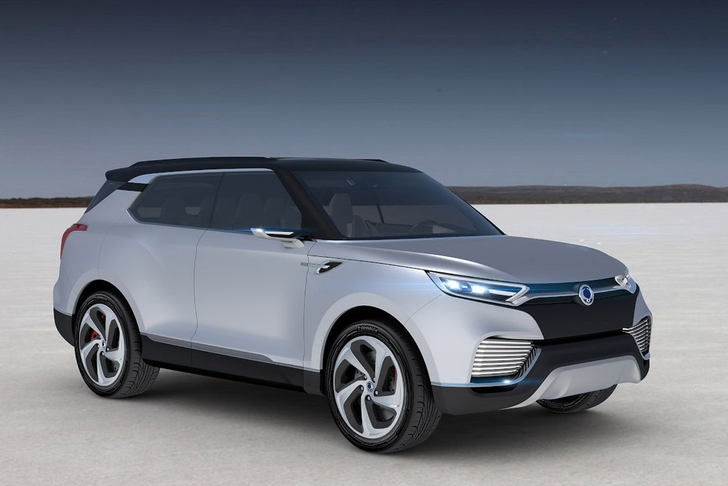 Ssangyong Xlv Concept Is A Seater Compact Suv