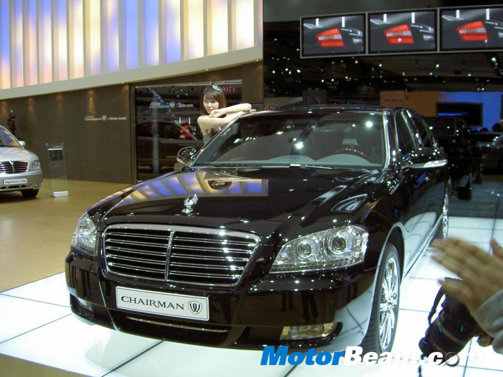 SsangYong Chairman W India