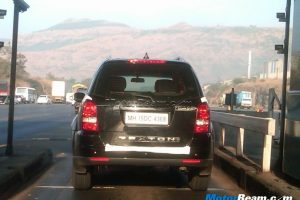 SsangYong Rexton Spied In India