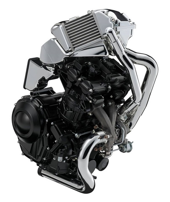 Suzuki 600cc turbocharged engine