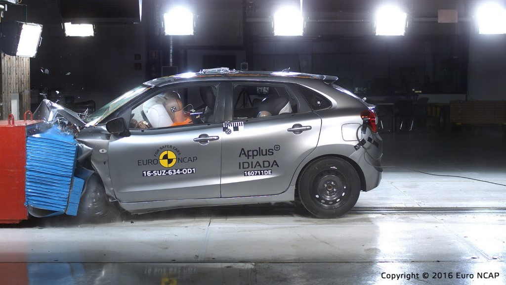 Suzuki Baleno Euro NCAP Tests