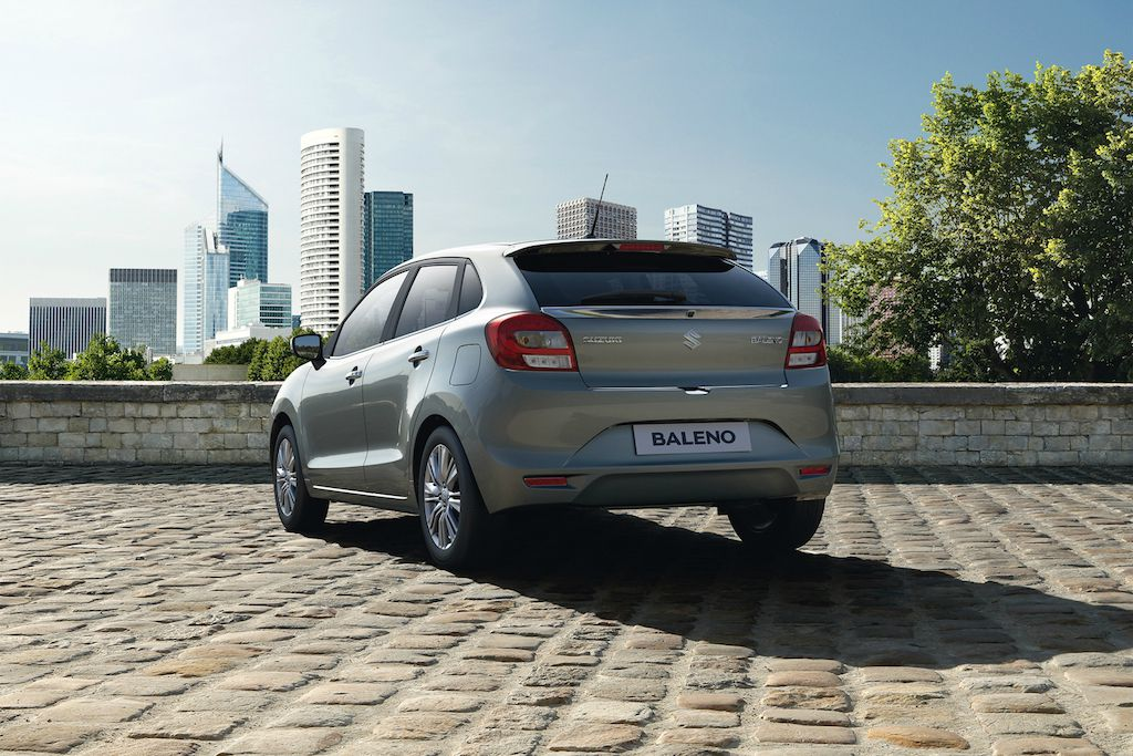 Suzuki Baleno Reveal Rear