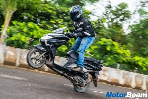 Suzuki Burgman Street Report Test Ride