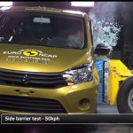 Suzuki Celerio Euro NCAP Side Crash Test