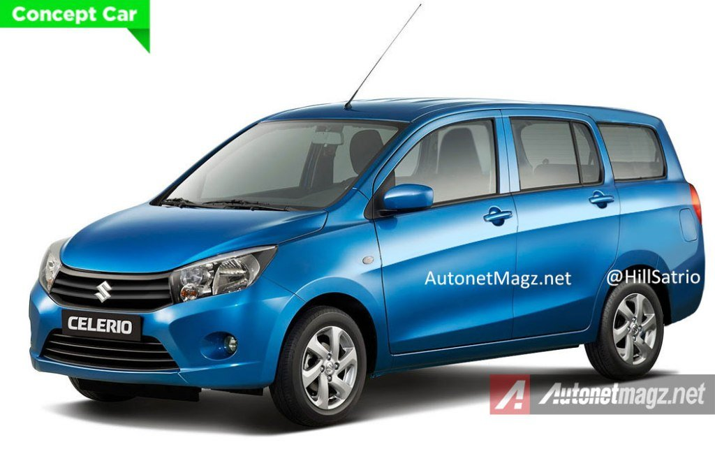 Suzuki Celerio Mpv Render The Low Cost Green Car