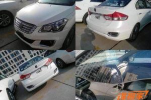 Suzuki Ciaz Production Model Spy Shot China