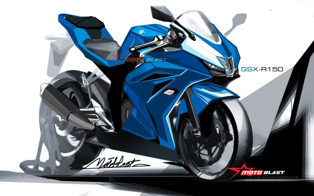 Suzuki Gsx 150r Renderings Show Reasons For Yamaha To Worry