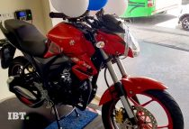 Suzuki Gixxer Red With Sparkle Black