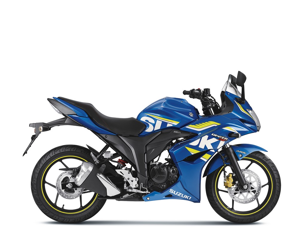 Suzuki Gixxer SF ABS Side Profile